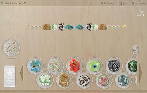 Jewelry configurator